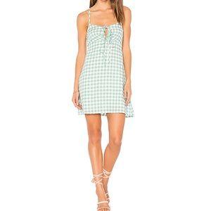 MINKPINK Sage Gingham Dress